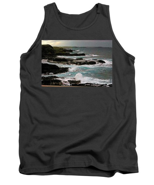 A Dangerous Coastline Tank Top by Blair Stuart