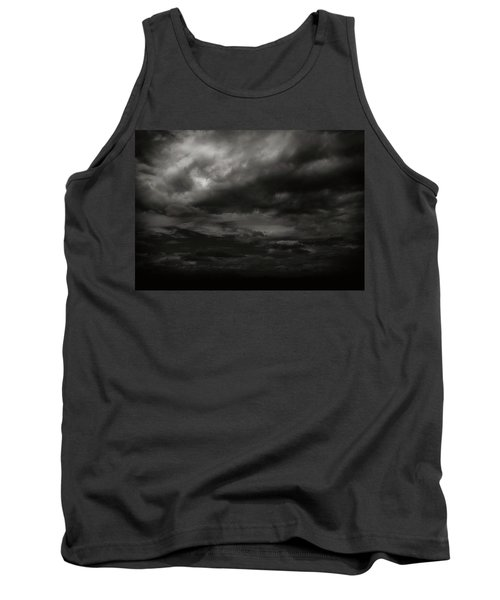 Tank Top featuring the photograph A Dark Moody Storm by John Norman Stewart