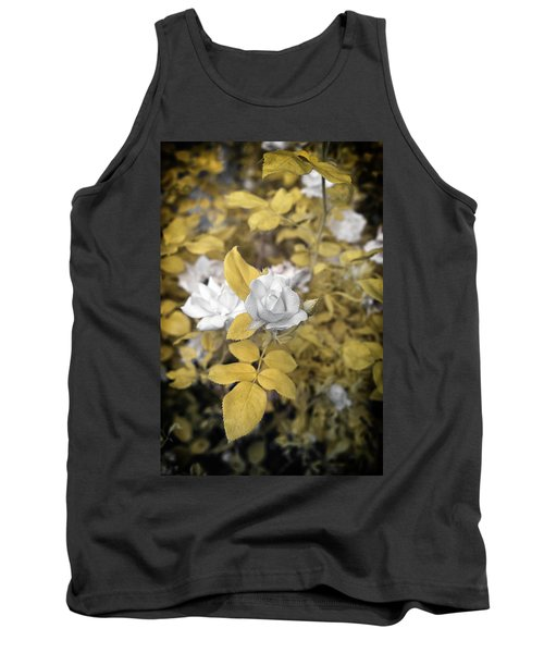 A Day In The Garden Tank Top by Paul Seymour