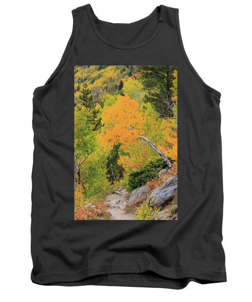 Tank Top featuring the photograph Yellow Drop by David Chandler