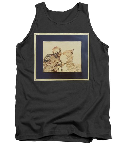 A Door To The Andean Heart Tank Top by Pamela Puch Santillan