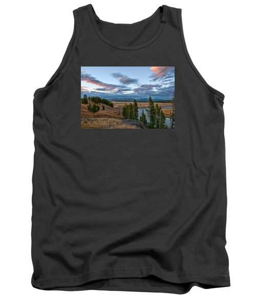 A Fall Evening In Hayden Valley Tank Top