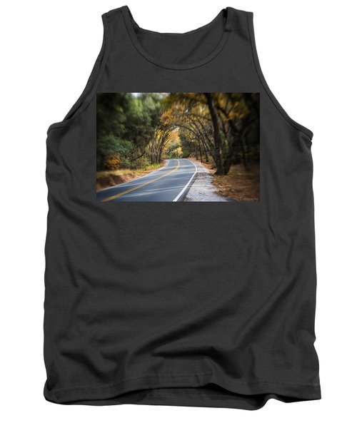 A Fall Roadway Tank Top