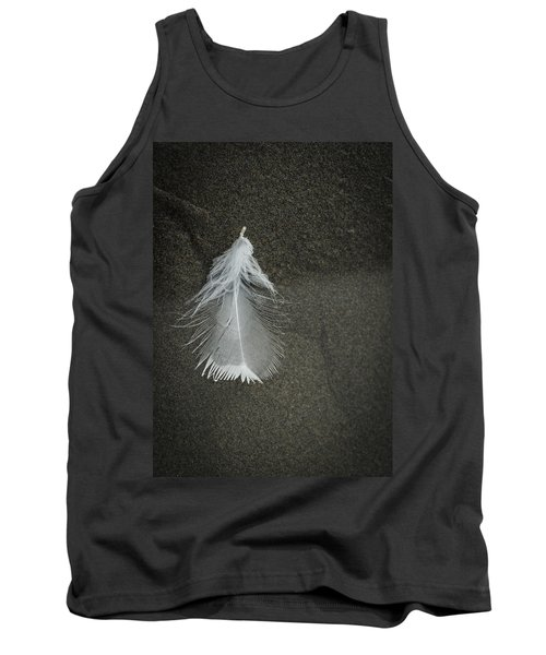A Feather At The Edge Of The Water Tank Top