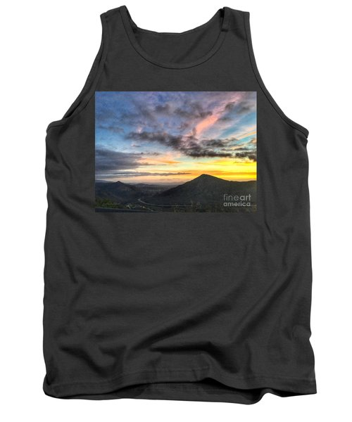 A Feeling Of The Presence Of God - Digital Painting Tank Top