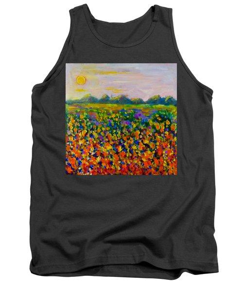 A Field Of Flowers #1 Tank Top