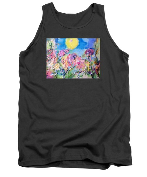 A Fine Summers Morning  Tank Top by Judith Desrosiers