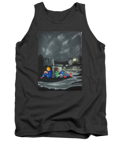 A Game Of Two Divides Tank Top by Scott Wilmot