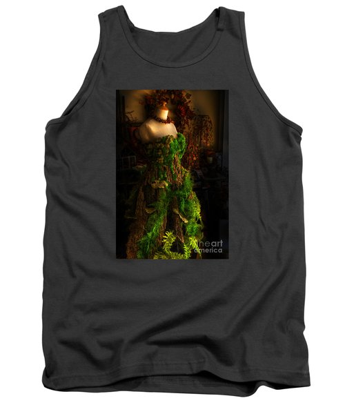 A Gown For A Faerie Princess Tank Top by William Fields