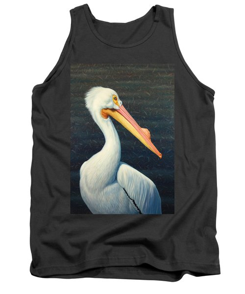 A Great White American Pelican Tank Top