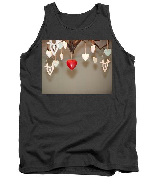 A Heart Among Hearts I Tank Top