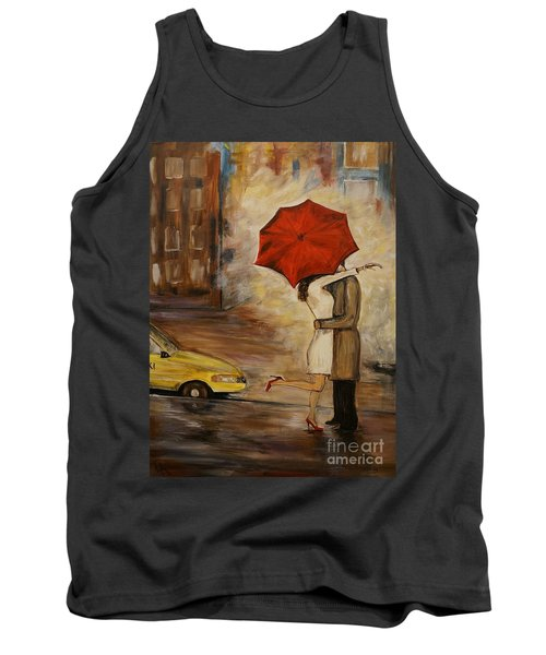 A Hello Kiss Tank Top