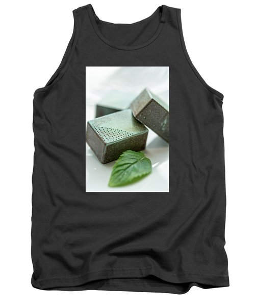 Tank Top featuring the photograph A Hint Of Mint by Sabine Edrissi