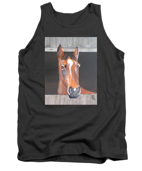 A Horse With No Name Tank Top by Carole Robins