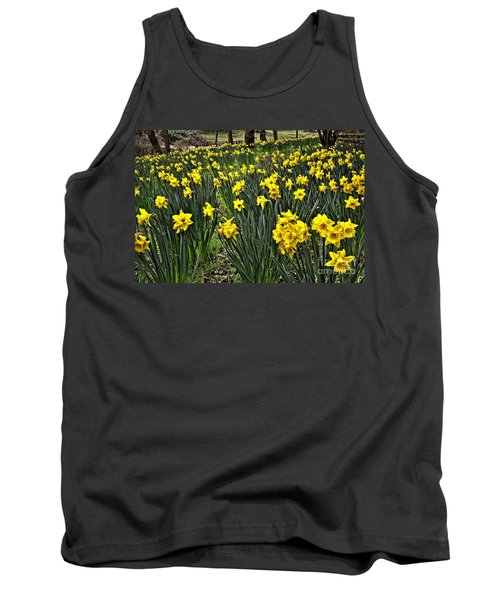 A Host Of Golden Daffodils Tank Top