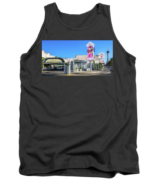 A Little White Chapel From The North 2 To 1 Ratio Tank Top by Aloha Art