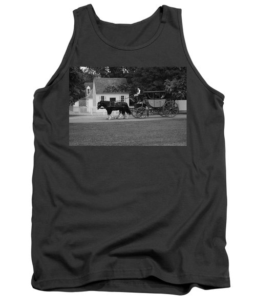 Tank Top featuring the photograph A Look Back by Eric Liller