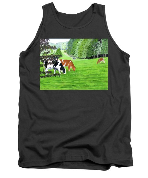 A Lush Summer Pasture Tank Top