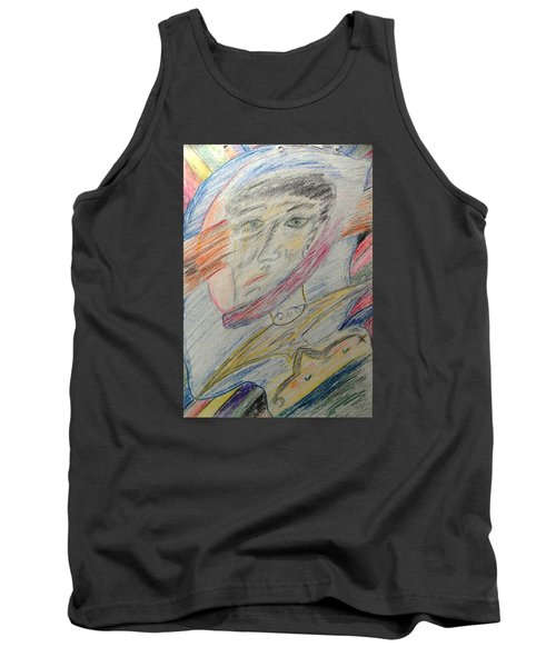 A Man And His Thoughts Tank Top