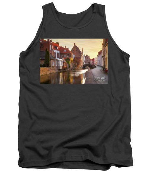A Morning In Brugge Tank Top by JR Photography