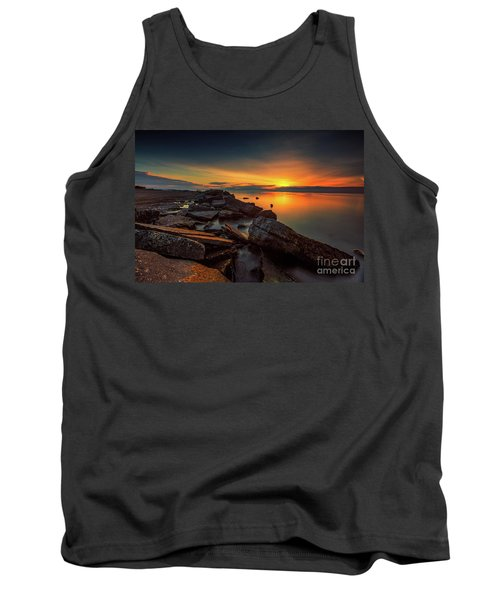 A Morning On The Rocks Tank Top