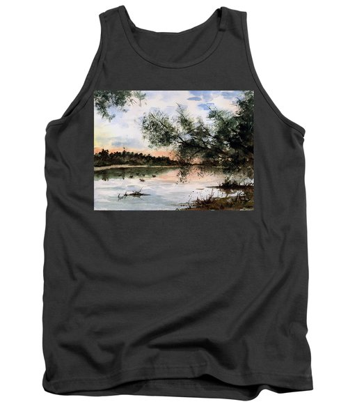 A New Day Tank Top by Sam Sidders