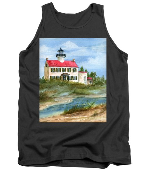 A Nice Day At The Point  Tank Top by Nancy Patterson