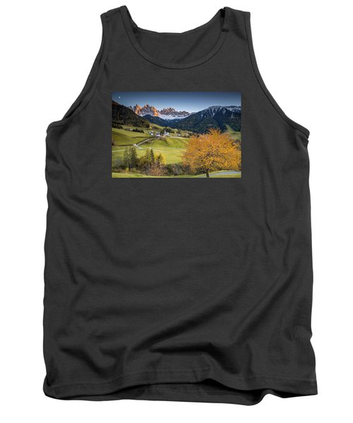 A Night In Dolomites Tank Top