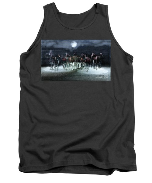 A Night Of Wild Horses Tank Top
