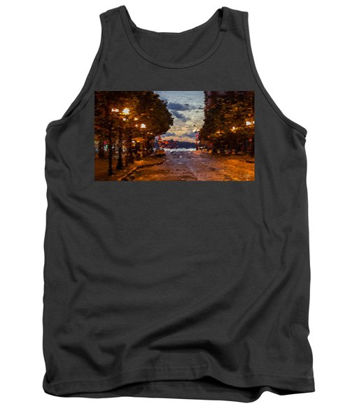 A Night Out On The Town Tank Top by Anthony Fishburne