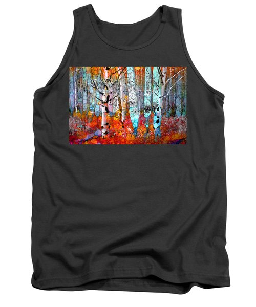 A Party In The Forest Tank Top
