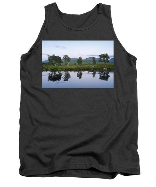 A Pastel Sky Over Loch Ba Tank Top