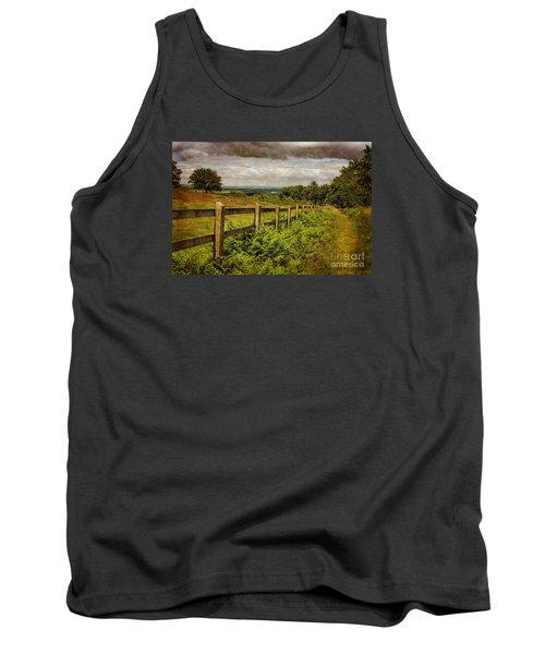 A Path From  A Hill Tank Top by Linsey Williams
