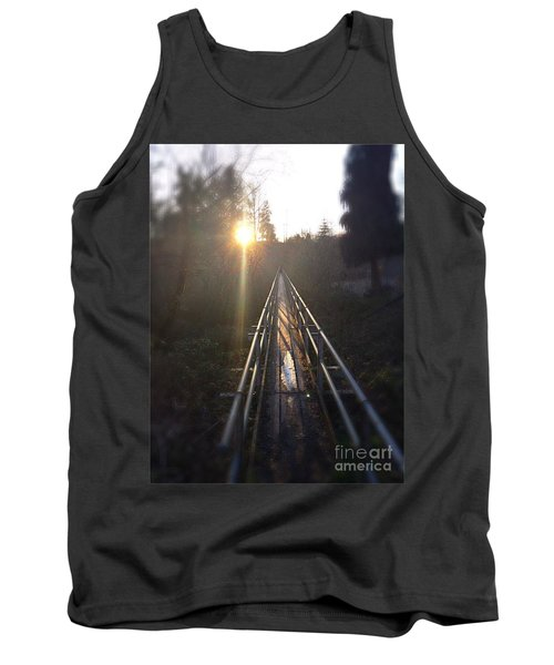 A Path Into The Unknown Tank Top