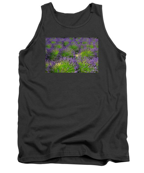 A Pattern Of Lavender Tank Top