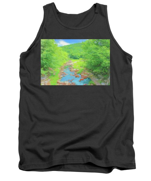 A Peaceful Summer Day In Southern Vermont. Tank Top