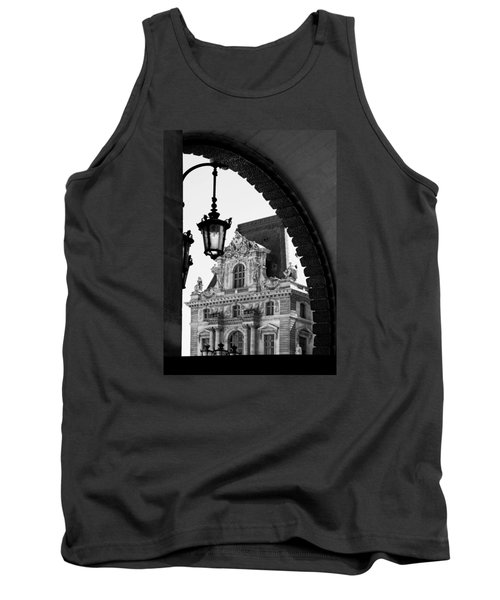 A Peak To The Louvre Tank Top