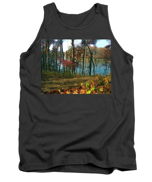 A Place To Think Tank Top by Cedric Hampton