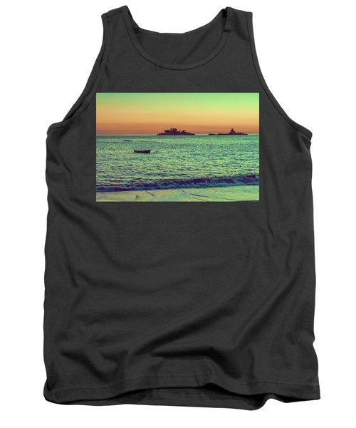 A Quiet Summer Evening On The Montenegrin Coast Of The Adriatic Sea Tank Top