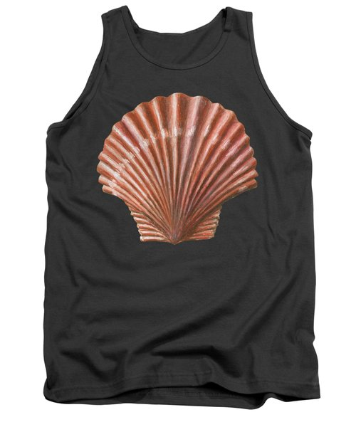 A Quincunx Of Scallop Shells Tank Top