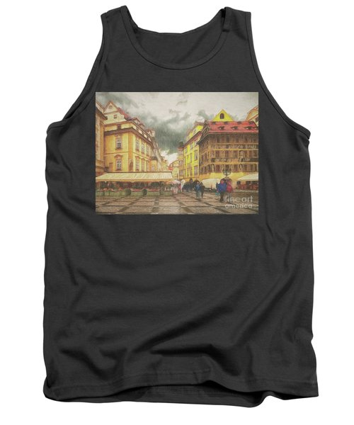A Rainy Day In Prague Tank Top