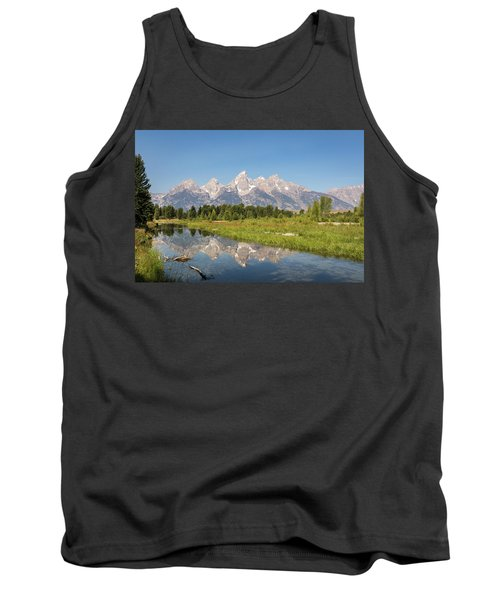 A Reflection Of The Tetons Tank Top