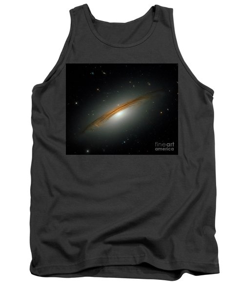 Tank Top featuring the photograph Fastest Spinning Galaxy by Nicholas Burningham