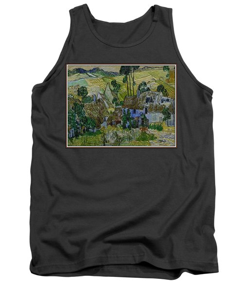 Tank Top featuring the painting A Replica Of A Painting  Of Van Gogh by Pemaro