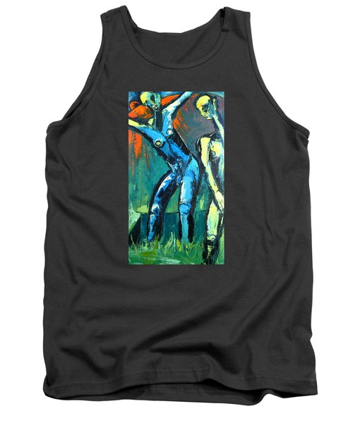 A Resurrection Tank Top by Kenneth Agnello