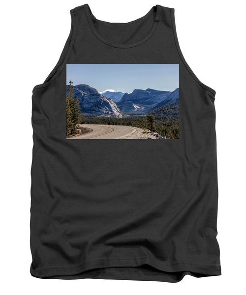 Tank Top featuring the photograph A Road To Follow by Everet Regal
