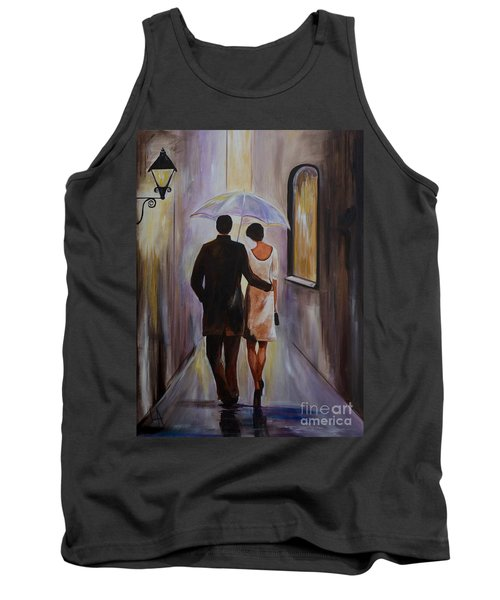 A Romantic Stroll Tank Top