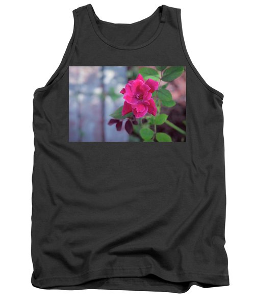 A Rose And A Hard Place Tank Top by Stefanie Silva