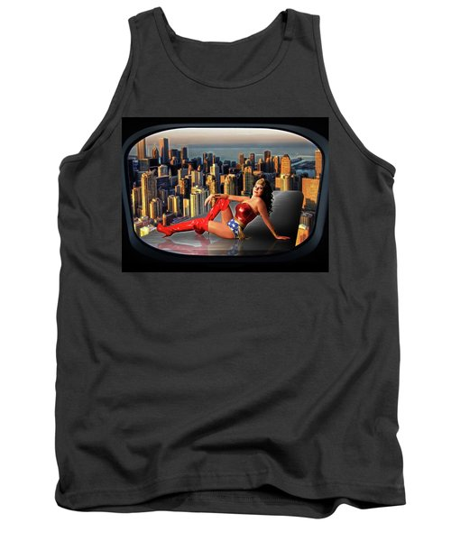 A Seat With A View Tank Top