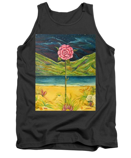 A Secret Romance Tank Top by John Keaton